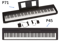 Yamaha P45 Vs P71 Comparison